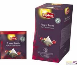 Herbata LIPTON FOREST FRUTIS 25 kopert w folii, czarna