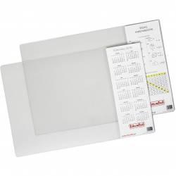 Podkładka na biurko z kieszenią przezroczysta 38x58 BIURFOL PB-04-01