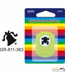 Dziurkacz ozd.1,8cm DZWONECZEK GR811CH-363 110-1615