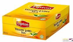 Herbata LIPTON yellow label, 100 torebek 2g