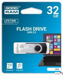 Pamięć USB GOODRAM 32GB UTS2 czarny USB 2.0 UTS2-0320K0R11