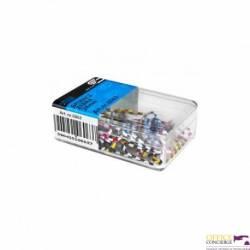 Spinacze VICTORY zebra 28mm 60szt pudełko magnetyczne