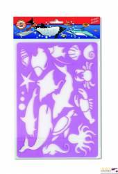 Szablon OCEAN  9820/3 KIN KOH-I-NOOR