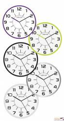 Zegar UNILUX POP 285CM _ metaliczny szary 400094283