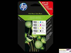 Tusz HP 950XL/951XL (C2P43AE)cz+ni+pu+żó 4szt