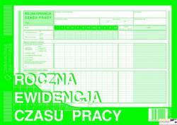 527-1 REC Roczna ewid.czasu pr pracy MICHALCZYK I PROKOP