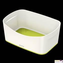 Pojemnik MyBOX bez pokrywki biało-zielony LEITZ 52571064
