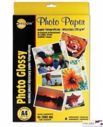 Papier foto YELLOW ONE A4 130g A20 błyszczący (4G130) 150-1177