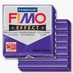 FIMOeffect, masa termoutwardzalna 56g, fiolet S 8020-602