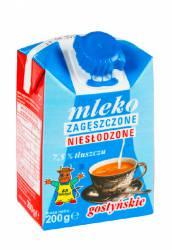 Mleko GOSTYŃ niesłodzone zagęszczone 7,5% 200g