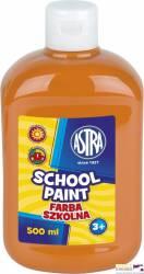 Farba szkolna 0.5l pomarańczowa ASTRA 301112007