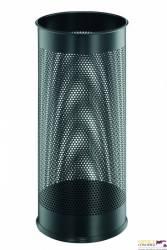 Stojak na parasole DURABLE czarny metalowy okrągły 3350-01
