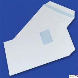 Koperty C4 SK białe 90g z oknem: lewa góra, 55x90mm (250 szt.) NC, samoklejące 31621320