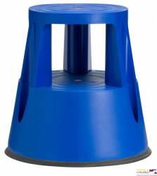 Taboret biurowy TWIN LIFT dwustopniowy niebieski 6000-5 TWINCO
