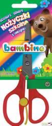 Nożyczki szkolne BAMBINO z odbojnikiem