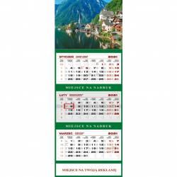 Kalendarz trójdzielny KS 055 B-GÓRSKIE JEZIORO WOKÓŁ NAS