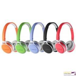 Słuchawki ESPERANZA bluetooth yoga niebieskie EH160B bezprzewodowe
