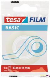 Taśma biurowa TESA BASIC 15x33m (10szt) 58568-0000-00