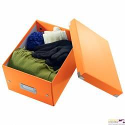 Pudło LEITZ C&S uniwersalne małe WOW pomarańczowe 60430044