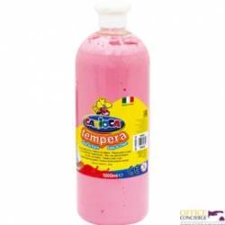 Farba TEMPERA różowa CARIOCA 1000ml 170-2303