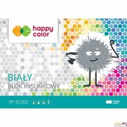 Blok rysunkowy HAPPY COLOR biały A3 20ark. HA 3710 3040-0