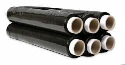 Folia stretch 2,5kg 23mic czarna rozciągliwość 170%