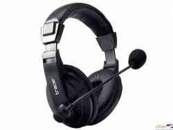 Słuchawki z mikr.TRACER EXPLODE  czarne TRASLU43289 zamiennik xak181