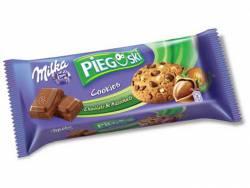 Ciastka Pieguski z czekoladą i orzechami laskowymi 135g Milka