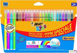 Flamastry 20+4fluo KID COULEUR 921360        BIC