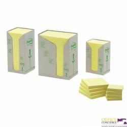 Bloczki EKO 76x127 655-1T (op. 16 szt.) żółte FT510110362  3M