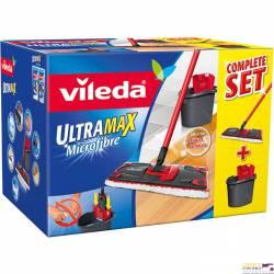 Zestaw w kartonie VILEDA ULTRAMAX mop płaski + wiadro 155737