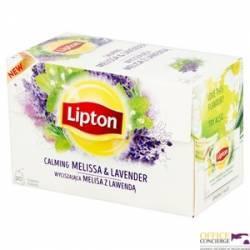 Herbata LIPTON MELISA I LAWENDA (20 saszetek) ziołowa
