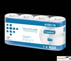 Papier toaletowy VELVET celuloza 2 warstwy Comfort (op.8rolek)4100118