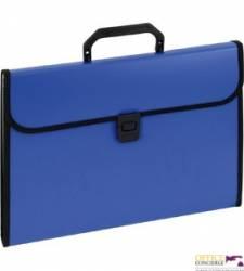 Aktówka harmonijkowa 9112A niebieska EAGLE 120-1221