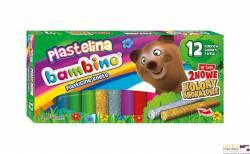 Plastelina BAMBINO 12 kolorów St.Majewski
