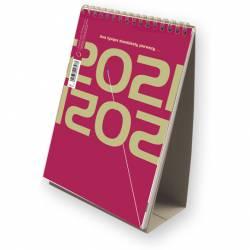 Kalendarz ze spiralką - pionowy 2021 T-101-3-01 Michalczyk i Prokop