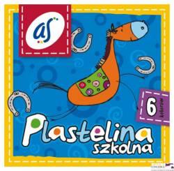 Plastelina szkolnaAS 6kol. ASTRA 303 219001     83811909