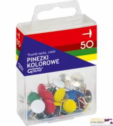 Pinezki kolorowe GRAND 50szt.T4 110-1115