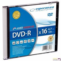 DVD-R ESPERANZA 4,7GB x16 - Slim 1 1113