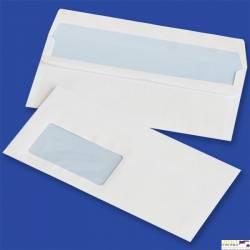 Koperty DL samoklejące SK białe 75g okno lewe 45x90mm (op. 1000 szt.) NC 11221300