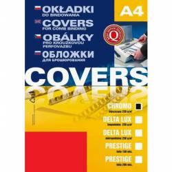 Karton CHROMOLUX A4 czerwony (25) 408045 ARGO
