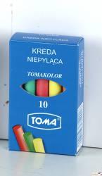 Kreda TOMA kolor.10szt OM-81201