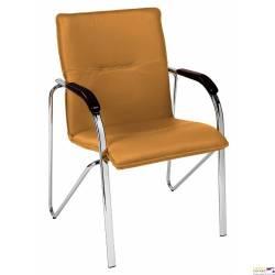 Krzesło SAMBA CHROME V17 miodowy DREWNO BUK 1007 NOWY STYL