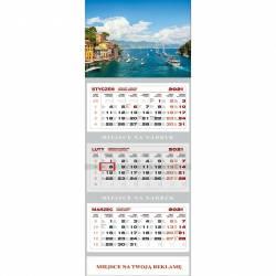 Kalendarz trójdzielny KS 055 B-ZATOKA WOKÓŁ NAS