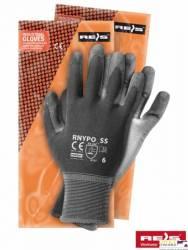 Rękawice powlekane stalowo-szare rozmiar 6 RNYPO