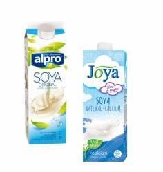 Mleko sojowe 1 litr - różne rodzaje - zdjęcie poglądowe
