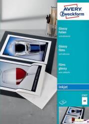 Folie samoprzylepne A4 0.17mm białe INK 50 ark. ZF2507 AVERY ZF