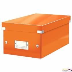 Pudło na DVD LEITZ C&S WOW pomarańczowy 60420044