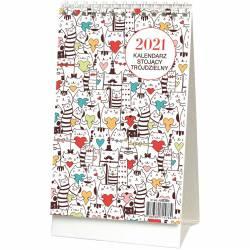 Kalendarz stojący trójdzielny KB 038 B WOKÓŁ NAS
