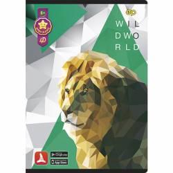 Zeszyt A5 52 kartki kratka 4D MIX 0423-0030-99 PANTA PLAST